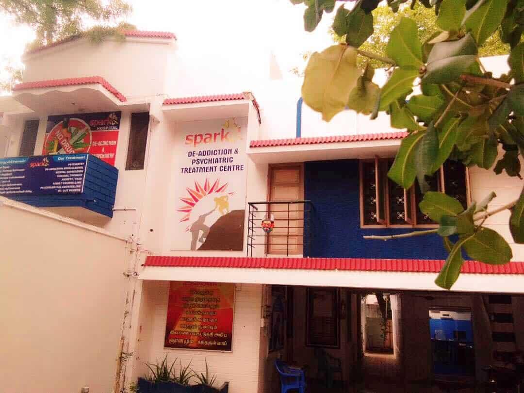 Spark De-Addiction and Psychiatric Treatment Hospital – Madurai